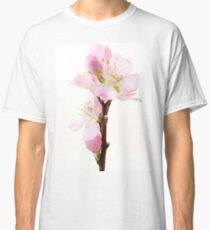 Pink cherry flowers Classic T-Shirt