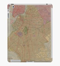 Vintage Map of Brooklyn NY (1911) iPad Case/Skin