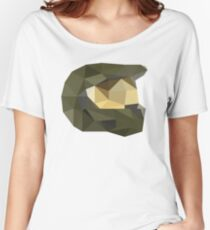 Low Poly - Master Chief Women's Relaxed Fit T-Shirt