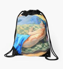 Welcoming the Golden Age Drawstring Bag