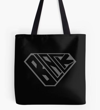 Black SuperEmpowered (Black on Black) Tote Bag
