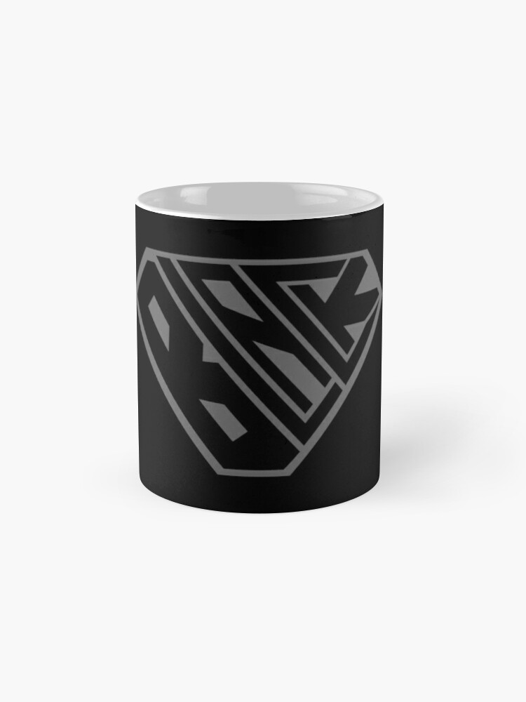 Alternate view of Black SuperEmpowered (Black on Black) Mugs