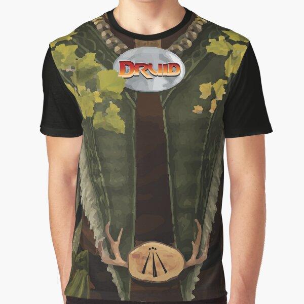 Dungeon Adventurewear: Druid Graphic T-Shirt