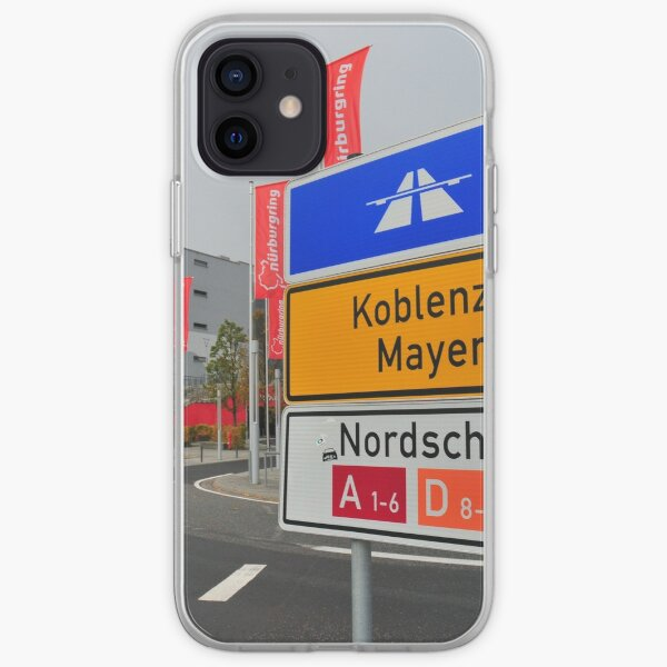 Nurburgring Coque souple iPhone