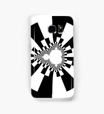 Mandelbrot XV - Black Samsung Galaxy Case/Skin