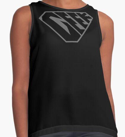 Geek SuperEmpowered (Black on Black) Contrast Tank