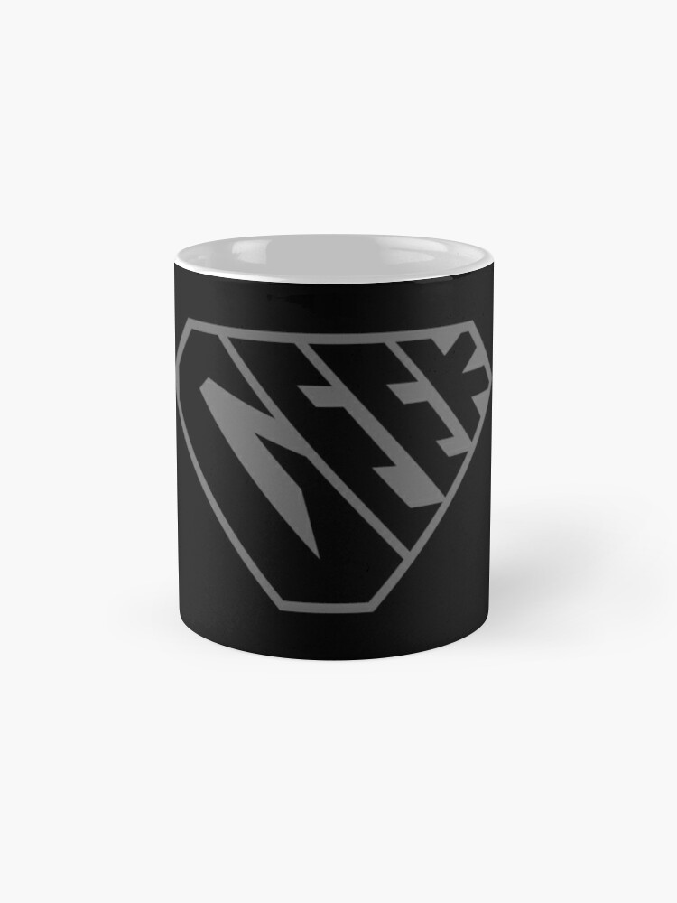 Alternate view of Geek SuperEmpowered (Black on Black) Classic Mug