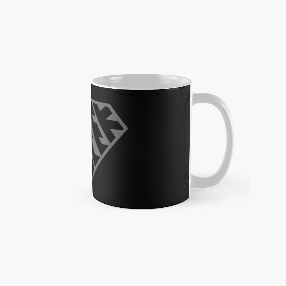 Geek SuperEmpowered (Black on Black) Classic Mug