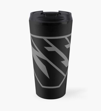 Geek SuperEmpowered (Black on Black) Travel Mug