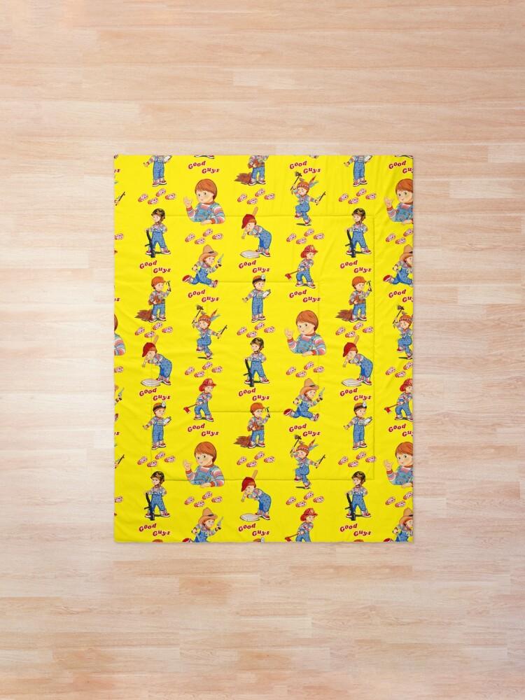Alternate view of  Good Guys - Child's Play - Chucky Comforter