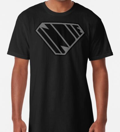 Indie SuperEmpowered (Black on Black Edition) Long T-Shirt