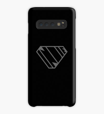 Indie SuperEmpowered (Black on Black Edition) Case/Skin for Samsung Galaxy