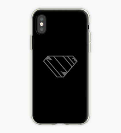 Indie SuperEmpowered (Black on Black Edition) iPhone Case