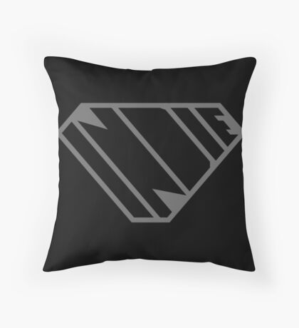 Indie SuperEmpowered (Black on Black Edition) Floor Pillow