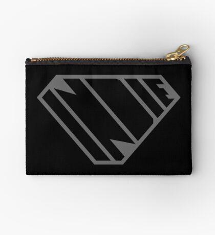 Indie SuperEmpowered (Black on Black Edition) Zipper Pouch