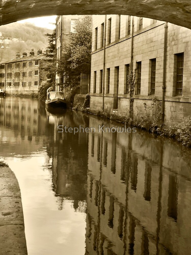 Rochdale Canal, Hebden Bridge by stephenknowles