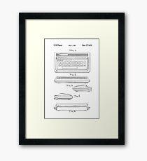 Patent Art - 64 Framed Print