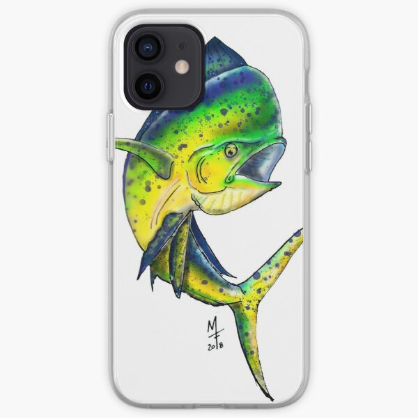 Mahi Mahi - Dorado iPhone Soft Case