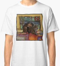 The Leisurely Cat Classic T-Shirt