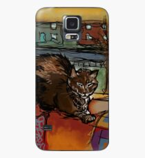 The Leisurely Cat Case/Skin for Samsung Galaxy