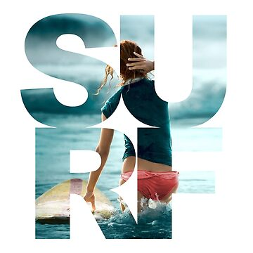 Surf T-Shirt - Cool Summertime Surfing T-shirt by Stylish-reb
