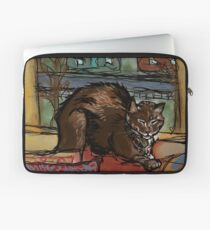 The Leisurely Cat Laptop Sleeve