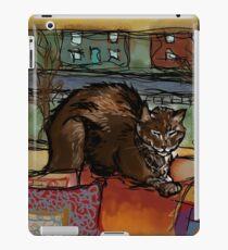 The Leisurely Cat iPad Case/Skin