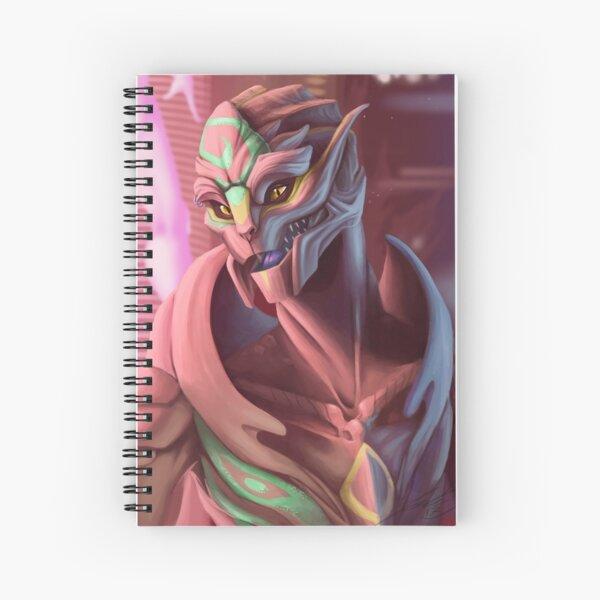 Pink Tur Spiral Notebook