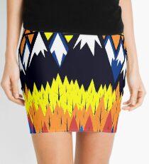 Triangulated Location  Mini Skirt