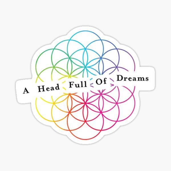 AHFOD Fleur de vie Sticker