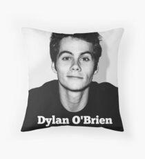 Dylan O'Brien Throw Pillow