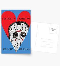 Murder Love Postcards