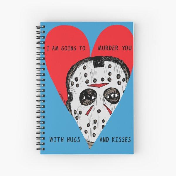 Murder Love Spiral Notebook