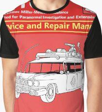ECTO-1 Service and Repair Manual Graphic T-Shirt