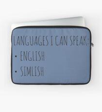 Languages I Can Speak Laptop Sleeve