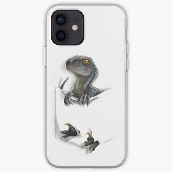 Pocket Protector - Blue iPhone Soft Case