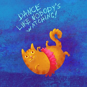 Dancing cat by shizayats