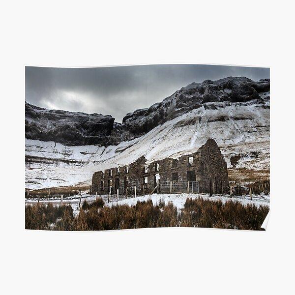 Winter In The Gleniff Horseshoe Poster
