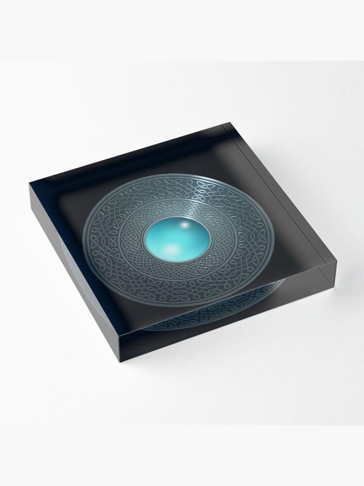 Alternate view of Shield Acrylic Block