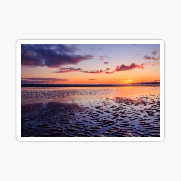Murvagh Beach Sunset Sticker