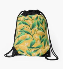 Lemons Drawstring Bag