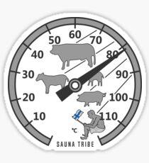 Sauna Tribe - Thermometer Sticker