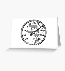 Sauna Tribe - Thermometer Greeting Card
