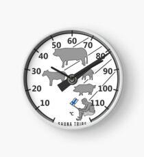 Sauna Tribe - Thermometer Clock