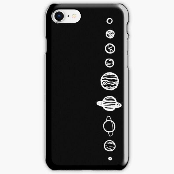 Black Planets iPhone Snap Case