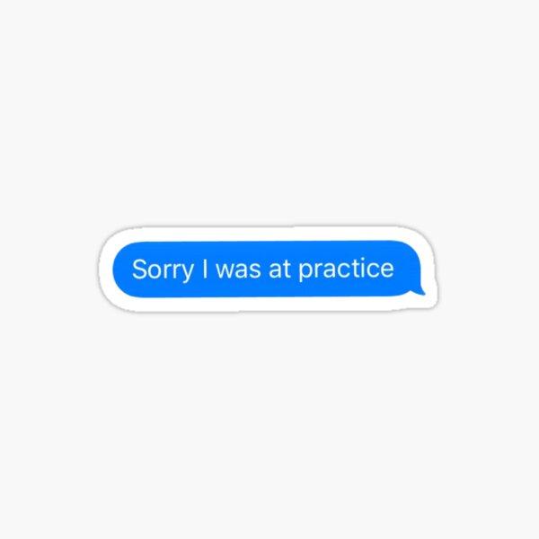 Lo siento, estaba en la práctica Pegatina