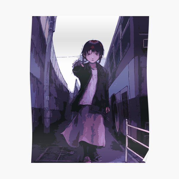 Lain Serial Experiments Lain Poster