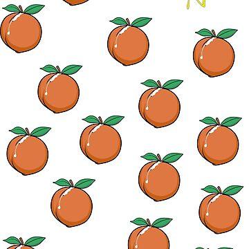 Call Me By Your Name Merch - Peach Scene Design by Halla-Merch