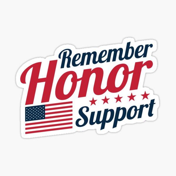 Military Appreciation Sticker