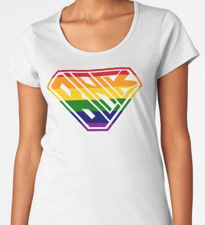 Black SuperEmpowered (Rainbow) Women's Premium T-Shirt